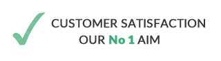 customer satisfaction our number one aim